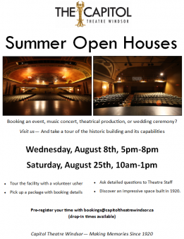 Open House August 2018